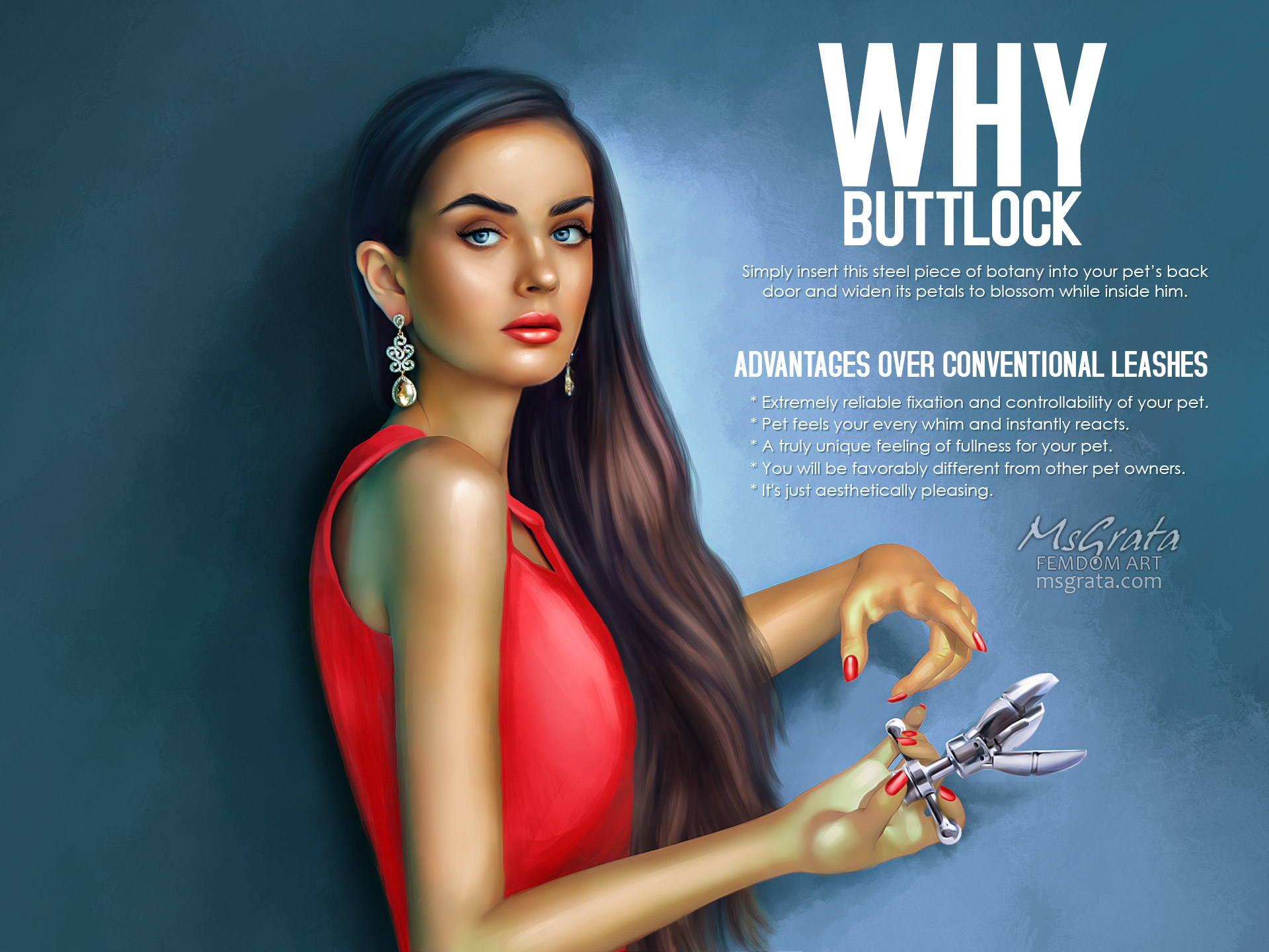 """Want to know how to use """"Buttlock""""?"""